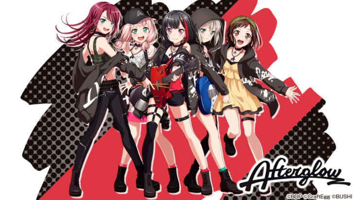 BanG Dream!「Afterglow」