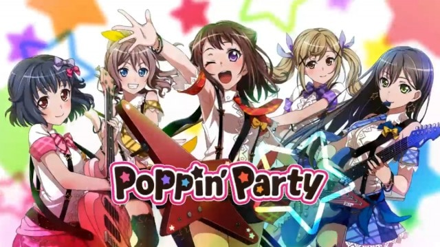 BanG Dream!「Poppin'Party」