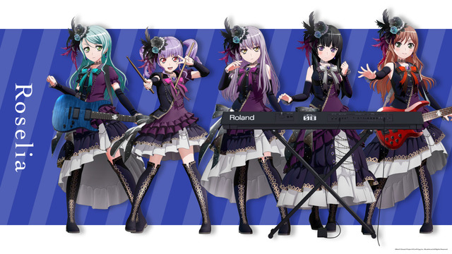 BanG Dream!「Roselia」
